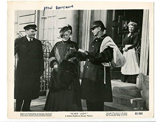 8x10-Still-Obliging Lady-Ethel Barrymore-Phyllis Morris-Arthur Gould-Porter-1951-VG