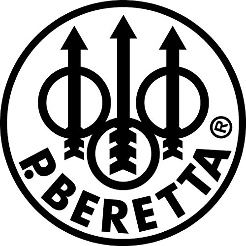 P. Beretta Firearms Logo Logo'd Full Color Window Decal (Full Auto Firearms)