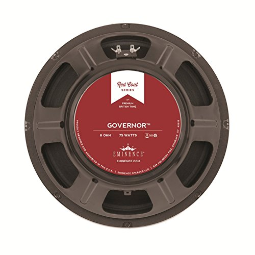 Eminence Red Coat The Governor 12 Inch Guitar Speaker 75 Watts - (8 -