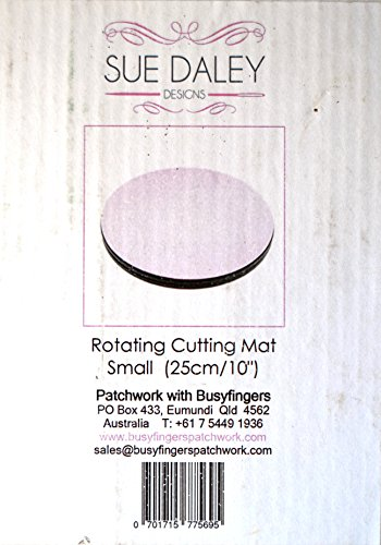 Small Rotating Cutting Mat 10 inch Diameter by Sue Daley Designs