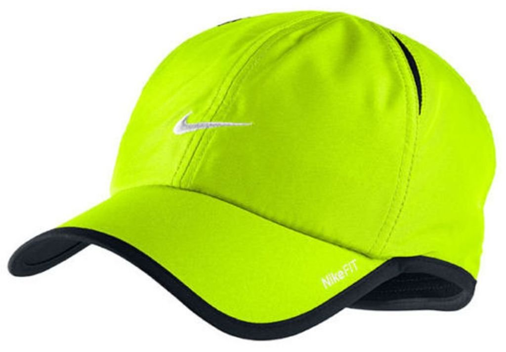 Amazon.com : Nike Unisex Feather Light Tennis Hat, Volt : Sports & Outdoors