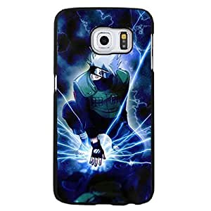 Classical Fashion Anime Naruto Series Pattern Cover Phone Case for Samsung Galaxy S6 Edge Plus Plastic Cell Phone Case