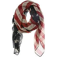 Vintage American Flag Scarf