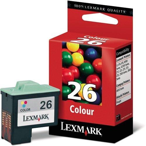 Lexmark Original 26 High Resolution Colour Ink - Ink Tri 17 Colour