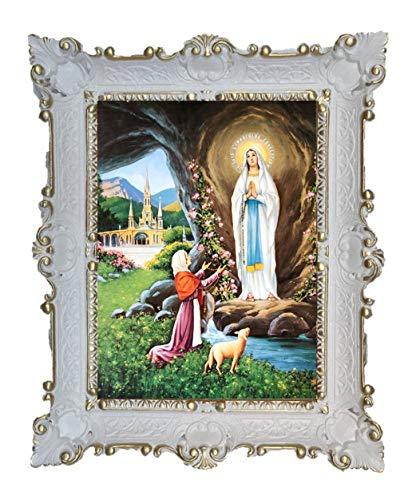 Lnxp Gemälde Tuerca Maria Lourdes Virgo Virgen ikonen Sagrada ...