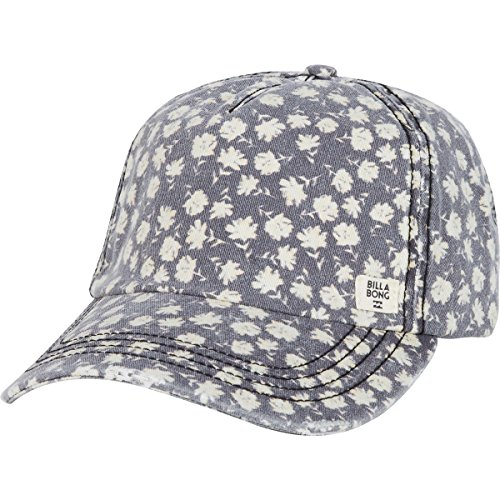 Billabong Canvas Hat - Billabong Women's Beach Blub Canvas Baseball Cap, Off Black, One Size