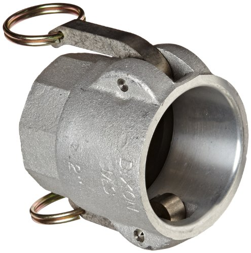 (Dixon 2015-D-AL Aluminum Type D Cam and Groove Reducing Hose Fitting, 2