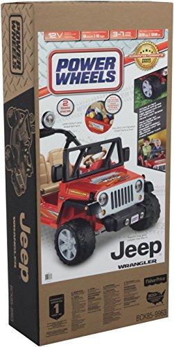 51JgLhvzuKL - Power Wheels Jeep Wrangler, Red