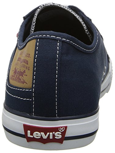 Levis Mens Stan Buck Fashion Sneaker Blu / Marrone