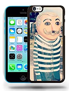 Clown Art Photo Abstract Drawing Phone Case Cover Designs for iPhone 5C