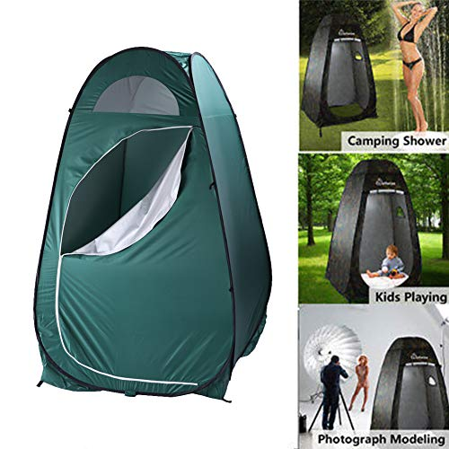 Pop Up Tent,Portable Outdoor Toilet Tent Fitting Room Privacy Shelter Tent for Changing Clothes Room Toilet Shower Camping Dress Bathroom Tent