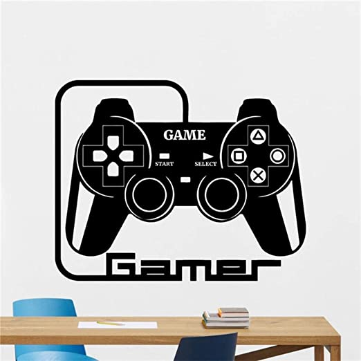 XIAOJIE0104 Gamer Tatuajes de Pared Juego de Video Juegos de ...