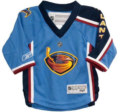 Reebok Atlanta Thrashers Infant Replica Home Jersey - THRASHERS TEAM COLOR 12-24 months