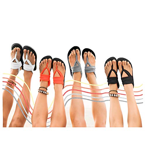 01gray Sling Yoga Back Shoes Flip Sandals Outdoor mat Studio CIOR Womens Flop Meditation Women OTwYY5