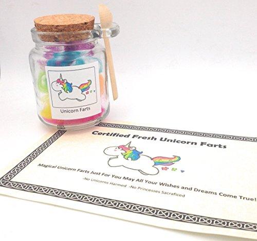 Lucky Rainbow Unicorn Farts In Glass ()