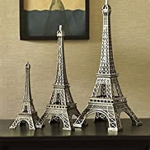 Hot Home Christmas Gift Statue Figurine Paris Eiffel Tower Model Decoration 15cm