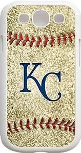 OTTHVE - MLB Team Logo, Kansas City Royals Logo Samsung GALAXY S3 Cases (White) - Kansas City Royals 1