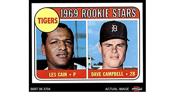 Amazoncom 1969 Topps 324 Tigers Rookies Les Caindave Campbell