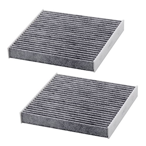 Car Air Conditioner Filter (Kootek Car Cabin Air Filter Replacement for CF10285 with Active Carbon for Toyota / Lexus / Scion / Subaru, against Bacteria Dust Viruses Pollen Gases Odors, 2 Pack)