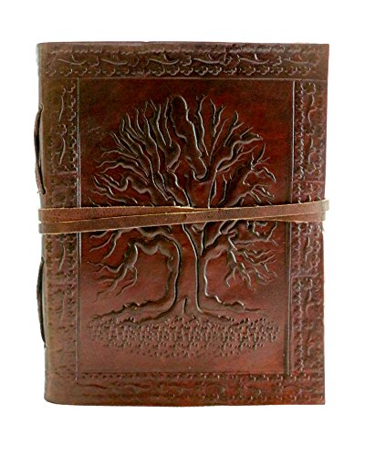 Chicago Leather Handmade Leather Journal Diary Notebook 6