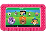 School Zone Little Scholar Best Kids 7'' Tablet, Ages 3-7, PreK-1st Grade, +Bumper, Android, Quad-Core, 16 GB, Wi-Fi, Front & Rear Camera, Pink (08612)