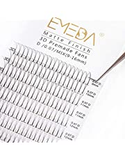 EMEDA wimper extensions 3D 0,07mm D curl volume wimpers 9mm 12mm 15mm mix Russische cluster wimpers 3D .07mm Volume eyelash extensions (0.07mm 3D mix)