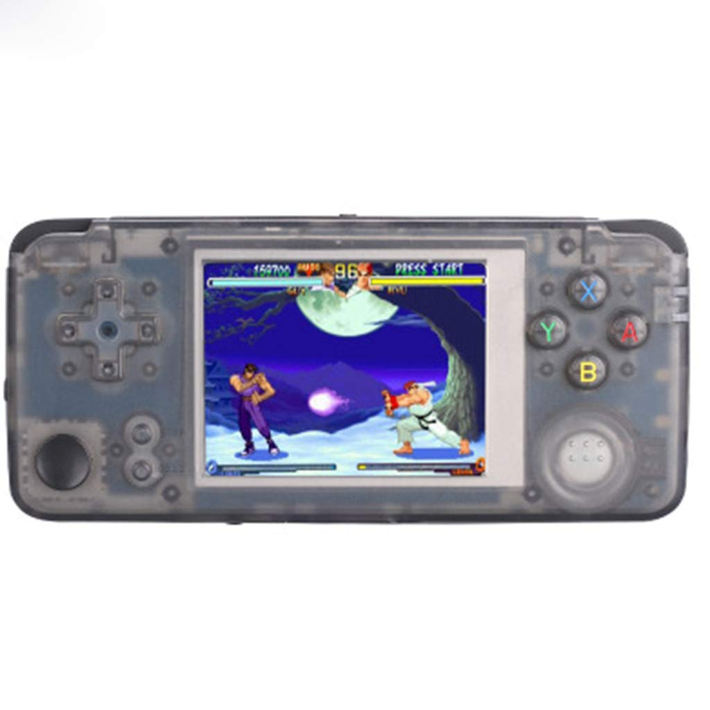Basde Handheld Game Console Kids Adults, Retro Game Console Portable Handheld Game Player Built-in 3000 Game Joystick, Home Travel Portable Gaming System Childrens Tiny Toys Digital (A) by Basde (Image #1)