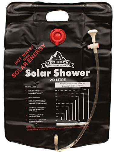 Red Rock Outdoor Gear 5-Gallon Solar Shower by Red Rock Outdoor Gear