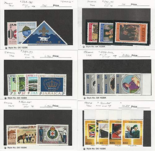 Jamaica, Postage Stamp, 233//805 Mint NH & LH, 1964-94, JFZ