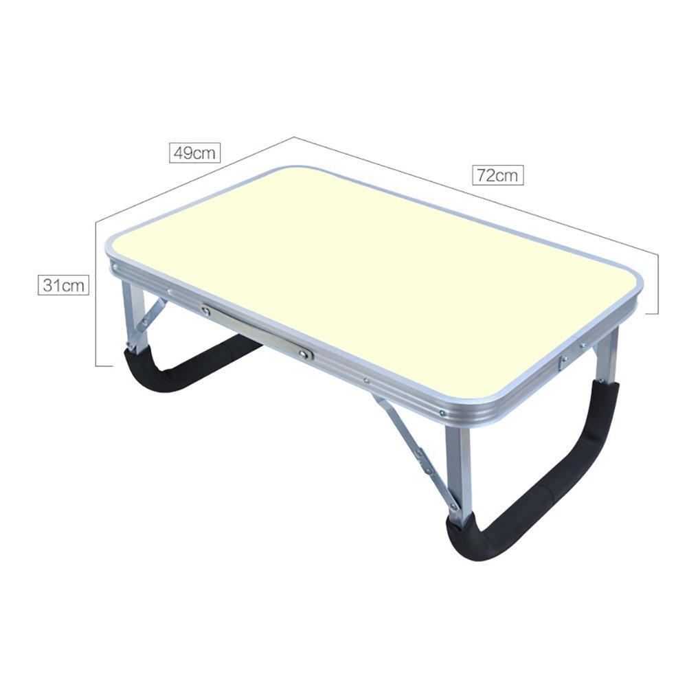 Folding Tables College Students Dorm Room Small Desk Laptop Desk Bed Portable ( Color : 4# )