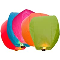 MIXED Colour Sky Lanterns - Chinese Lanterns
