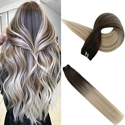 Easyouth Hair Bundles Ombre Straight 20