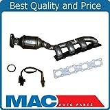 Mac Auto Parts 139401 QX56 Armada Titan 5.6L Driver Side Manifold Catalytic Converter & O2 Sensor