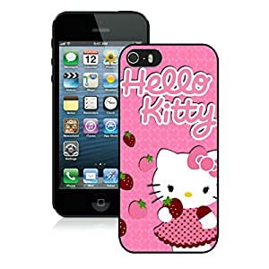 Personalized Design iPhone 5S Hello Kitty 19 Cell Phone Cover Case for Iphone 5s Generation Black