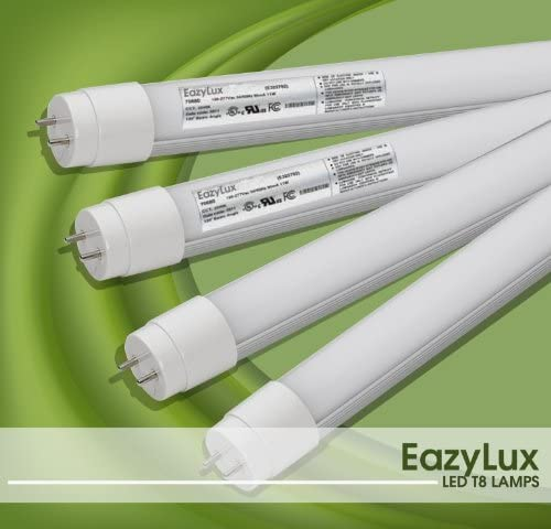 Amazon Com Luxul Technology Led T8 Tube Lights For Fluorescent Light Replacement Cool White No Wiring Needed For Electric Ballast Only Home Improvement