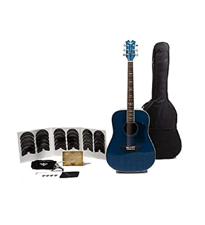 Goods Of Every Description Are Available Lovely Keith Urban American Vintage Limited Edition Acoustic Guitar Package .. Blue!
