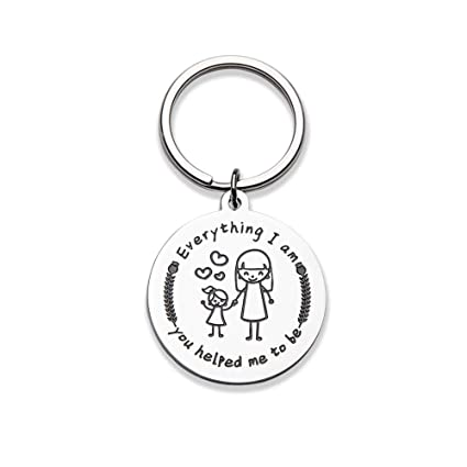 Mothers Day Gifts For Mom Birthday Mother Women Mommy Keychain From Daughter Son