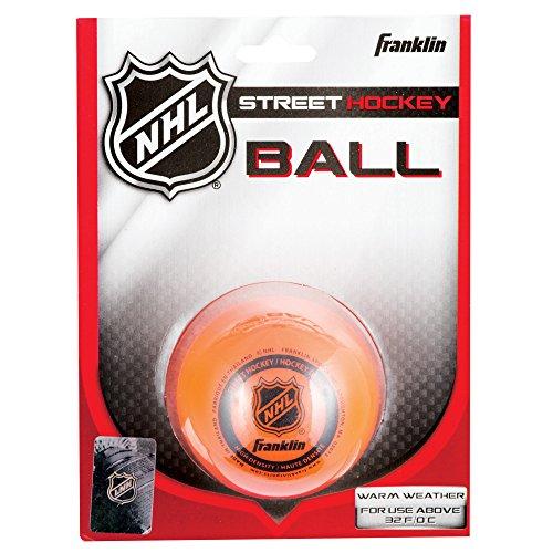 Franklin Sports NHL Street Hockey High Density Ball (Orange)