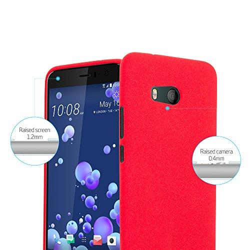 Cadorabo - Cubierta protectora para >                                                  HTC OCEAN / U11                                                  < de silicona TPU en diseño Escarcha