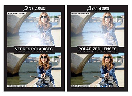 POLAbyOPAL Bleu Lunettes Adulte de POIS048 soleil Homme polarisées marine 4rw4xqRn