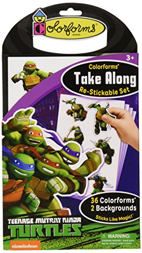Colorforms Along Teenage Mutant Turtles product image