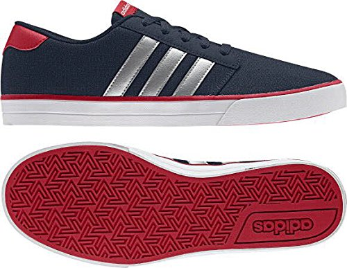 Adidas VS Skate–Chaussures Skate pour homme, Bleu–(maruni/plamat/escarl) 402/3