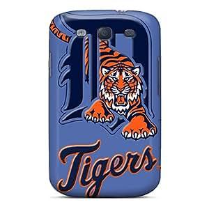 Galaxy S3 Case Bumper Tpu Skin Cover For Detroit Tigers Accessories