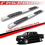 04 f150 running board - Mifeier Side Step Rails Nerf Bar Running Board For 04-08 F150 06-08 Lincoln Mark LT Super Crew Cab (With 4 Full Size Doors) 4