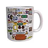 Central Perk Friends Fan Art Coffe Mug , Custom Mug, Personalised Photo Mug, Unique Gift by DK Collection
