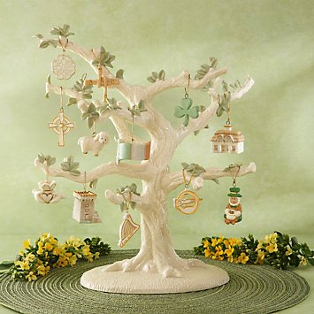 Lenox Set of 12 Ornaments for Ornament Tree (Tree Not Included) St. Patrick's Day ()