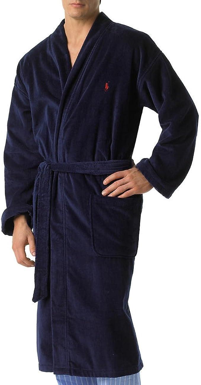 Polo Ralph Lauren Velour Kimono Robe Robes Men