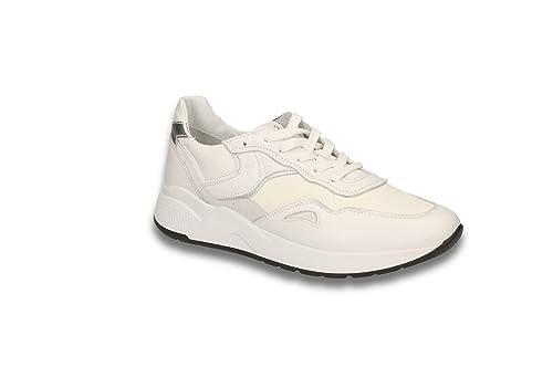Nero Giardini P907731D Bianco Sneakers Scarpe Donna