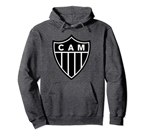 fan products of Unisex Atletico Mineiro Soccer Fan Hoodie Large Dark Heather