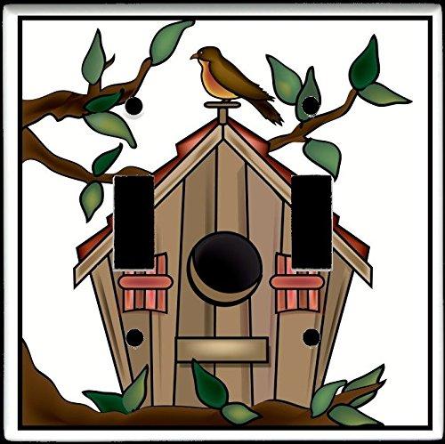 Double Birdhouse - 6